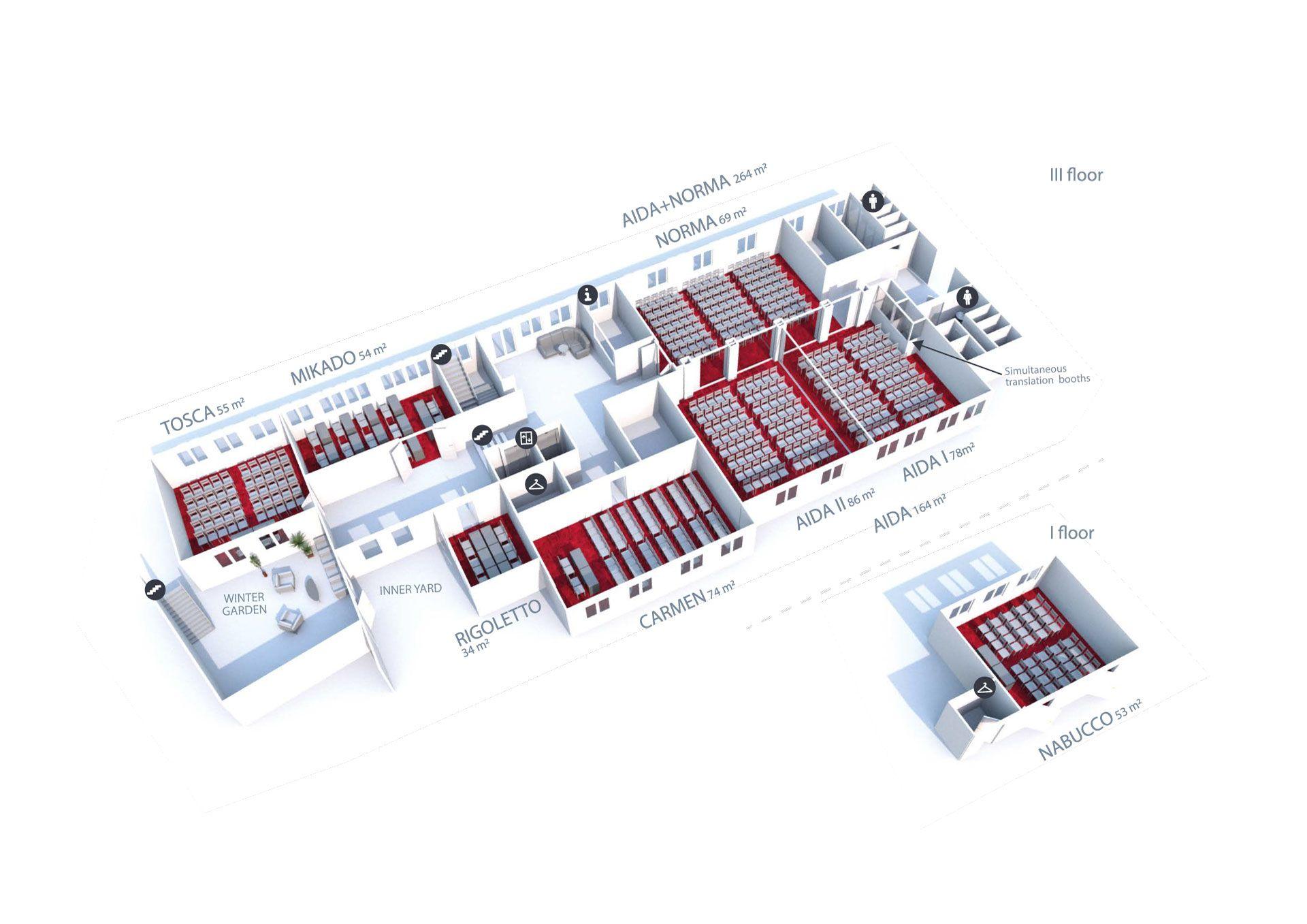 Artis Centrum Hotels - Konferenciju Planas